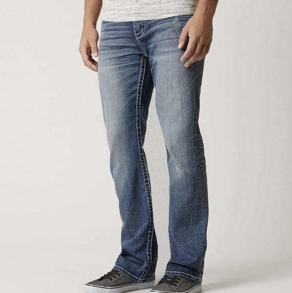 BKE Buckle 31R Men's Aiden Denim Jeans Straight